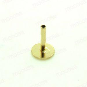piercing base piedra oro oreja labio mocosa pendientes