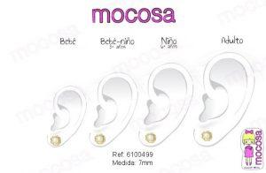 flores perlas en la oreja pendientes oro niña bebe rosca 18k diferentes regalo mocosa hipoalergénicos aretes pequeñas tuercas