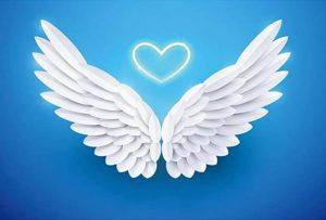 alitas ala de ángel inspiración pendientes niña mocosa