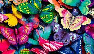 mariposas inspiracion diseño pendientes niña bebe oro plata rosca