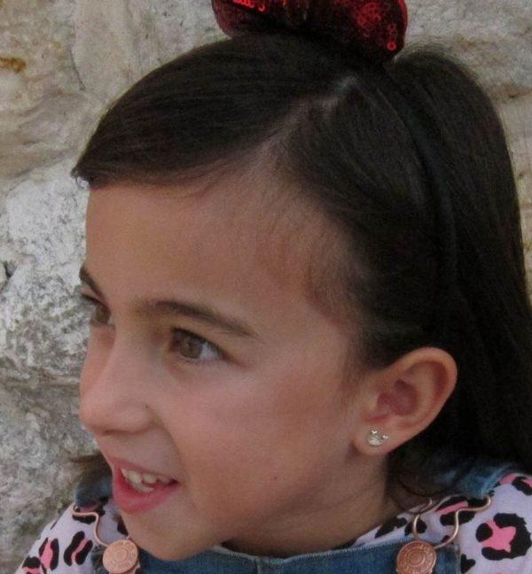 pendientes ballena plata baratos rosca seguridad regalo seguridad en la oreja niña