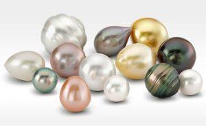 perlas cultivadas inspiración diseño pendientes niña bebé oro plata