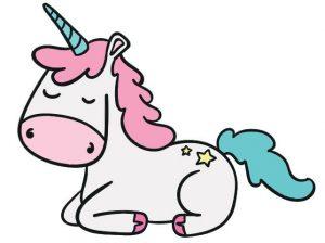 unicornio diseño inspiración pendientes oro plata niña bebé