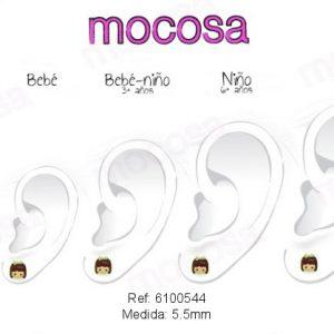 Pendientes Mocosa Morena