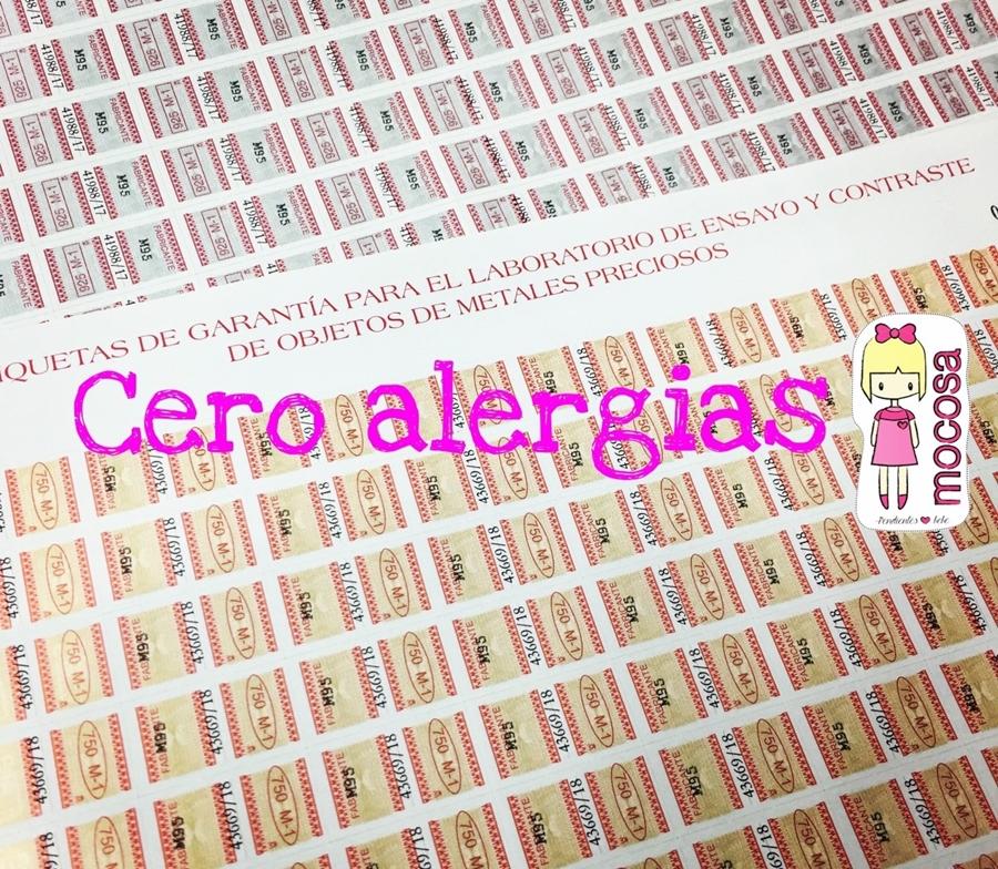 cero alergias, hipoalergenico, medicinales pendientes oro plata bebe niña